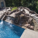 Pooll and Water feature